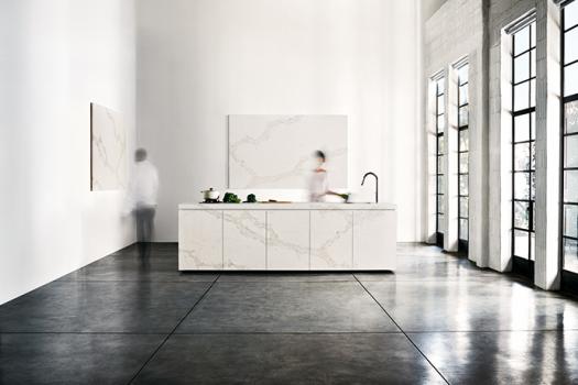 Calacatta Nuvo Bathroom | KitchAnn Style