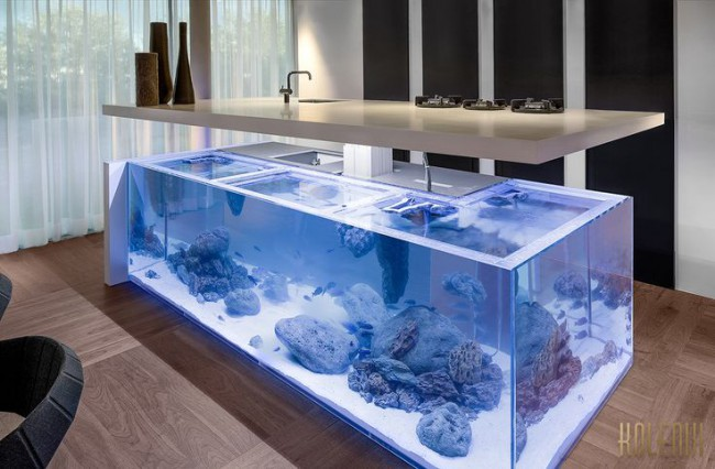 Built-in Aquiarium Inspiration | KitchAnn Style
