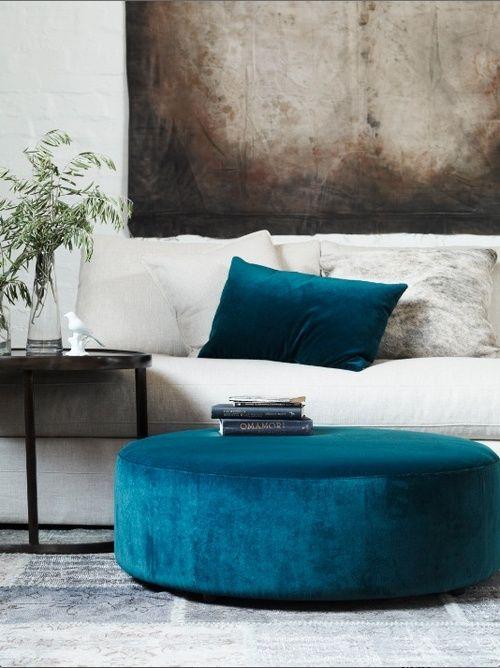 Upholstery Inspiration 2015 Blue Paisley | KitchAnn Style