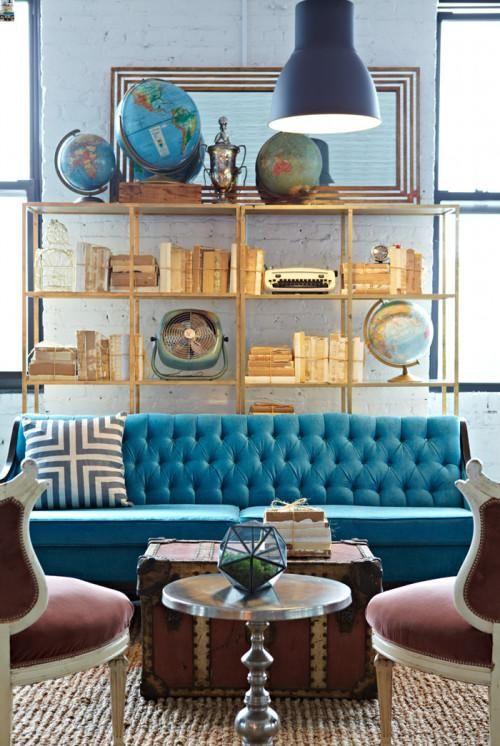 COTY 2015 Blue Paisley Color Inspiration KitchAnn