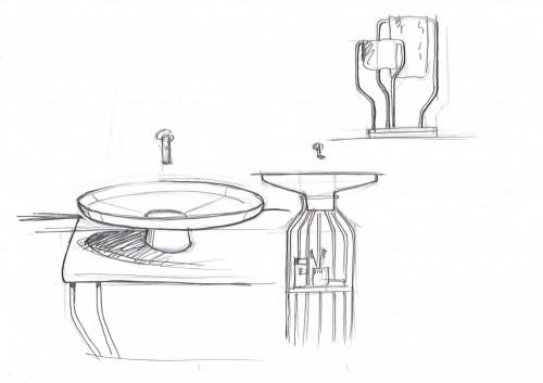 Arik Levy's Bowl Sketch   KitchAnn Style