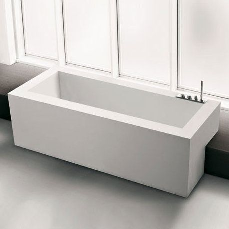 2015 Bathroom Trends: Semi-Recessed Tubs   KitchAnn Style