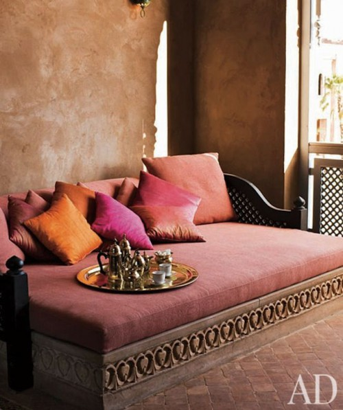 Marsala Inspiration coty2015 moorish bed kitchann style