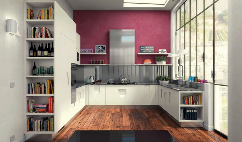 Pantone Marsala Kitchen Wall COTY 2015 kitchann style