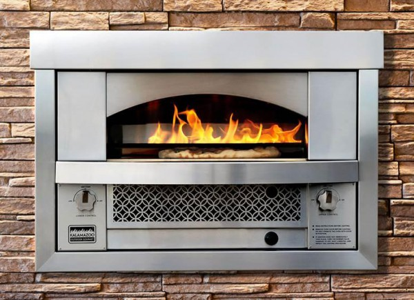Built-in Pizza Oven   KitchAnn Style