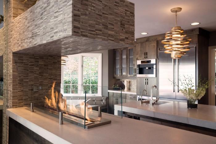 kitchen countertop fire element   KitchAnn Style