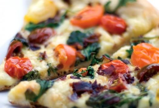Pancetta Pizza Recipe| KitchAnn Style