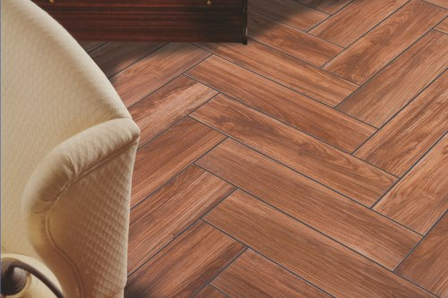 Pecan-Herringbone-Shadow-Grout-locking-floor-tile-kitchann
