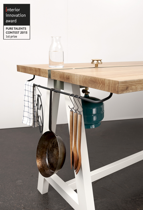 Moritz Putzier Cooking Table | KitchAnn Style