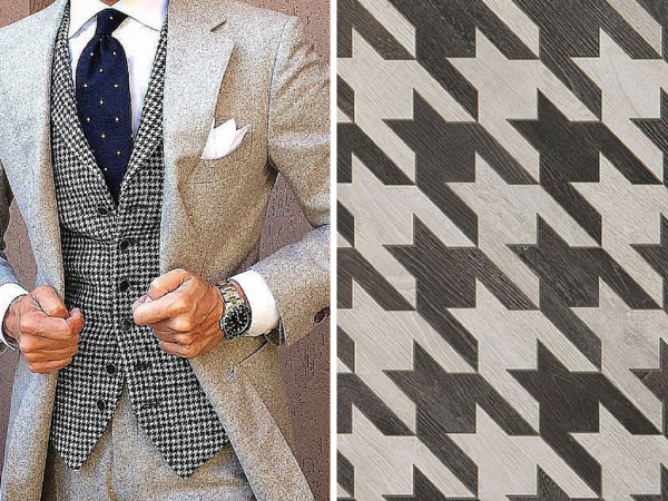 Walker Zanger Serling Row Collection, Houndstooth   KitchAnn Style