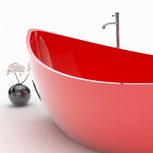 red-funamori-boat-shaped-bathtub-kitchann-style-naples-fl