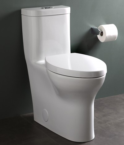 One-Piece Toilet | Dual Flush| KitchAnn Style
