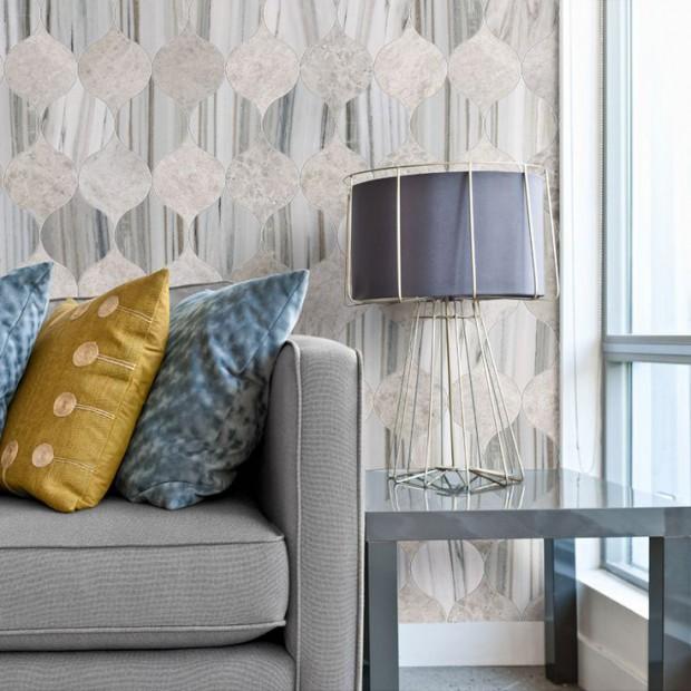Water Jet lantern Tile | KitchAnn Style | 2015 tile trends