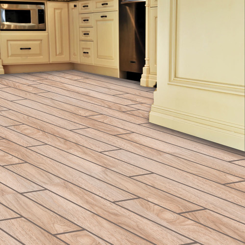 Interlocking floating porcelain plan flooring | KitchAnn Style