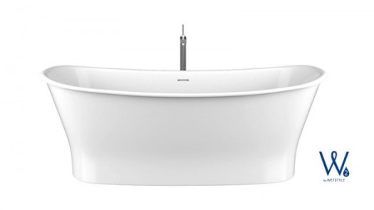 Wetstyle W2 Cloud freestanding tub | KitchAnn Style