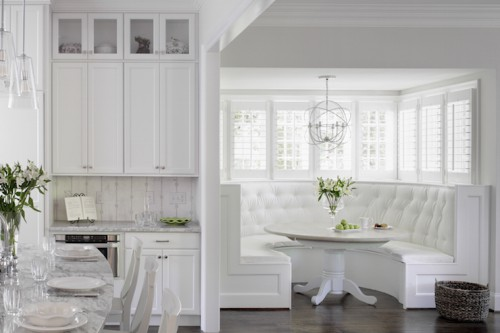Curved Kitchen Nook Inspiration | KitchAnn Style
