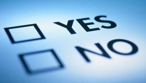 Decide yes or no | Steps to take