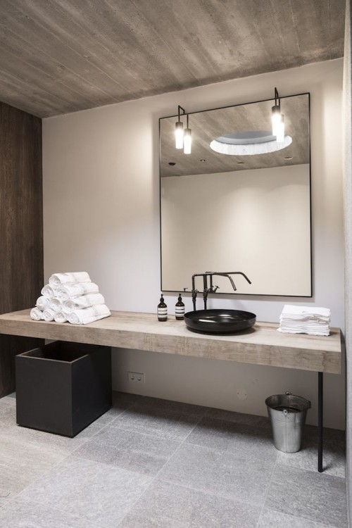 Industrial Bathroom Inspiration | KitchAnn Style