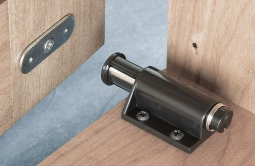 Magnetic Touch Latch for Cabinets | KitchAnn Style