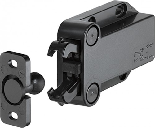 Non-Magnetic Touch Latch for Cabinets   KitchAnn Style