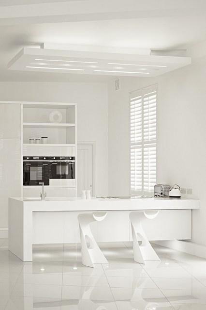 Interior Design Girls Kitchen: Beautiful White Inspiration (Even After Labor Day