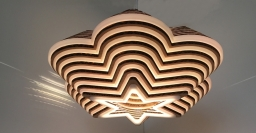 Artisan Upcycled Cardboard Lighting