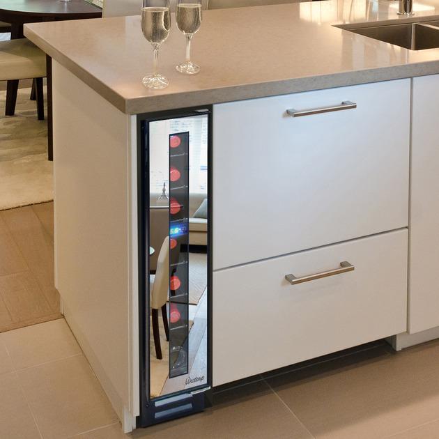 Narrow Wine Cooler | KitchAnn Style