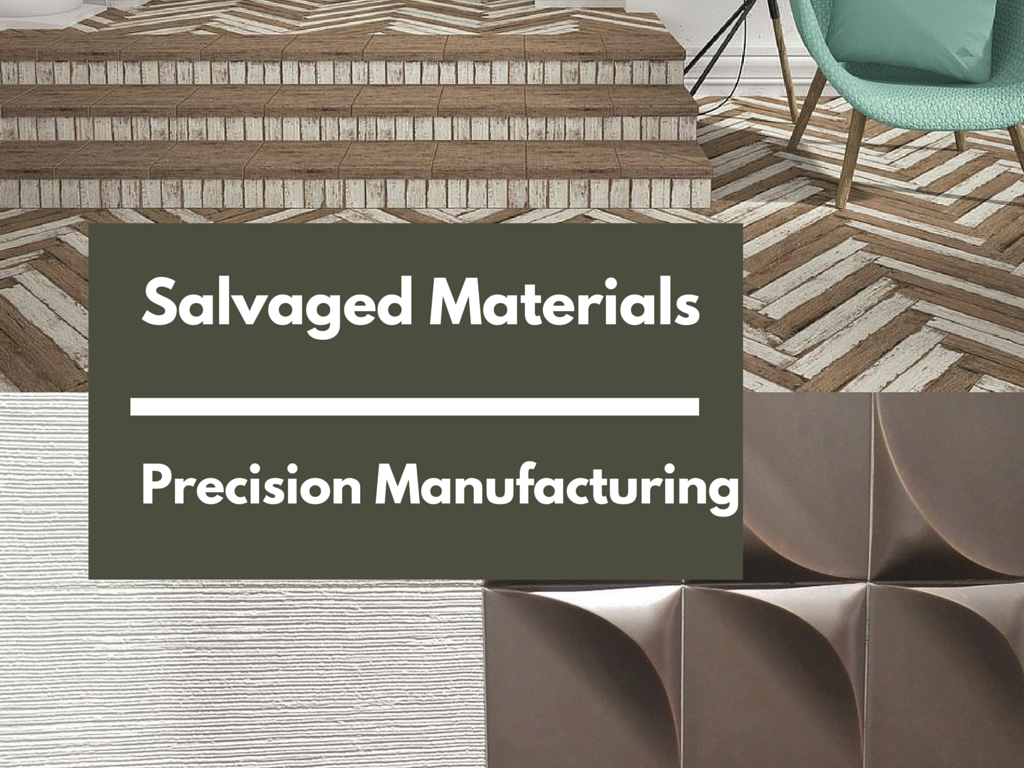 Salvaged Materials - Precision Manufacturing   KitchAnn Style