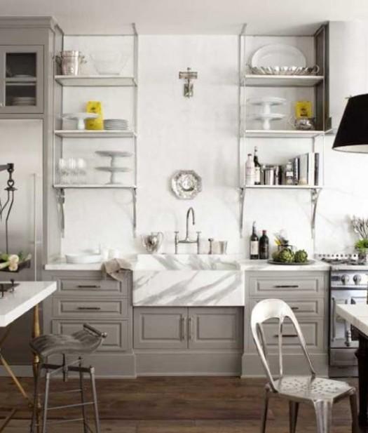 luxurious marble farm house sink | KitchAnn Style