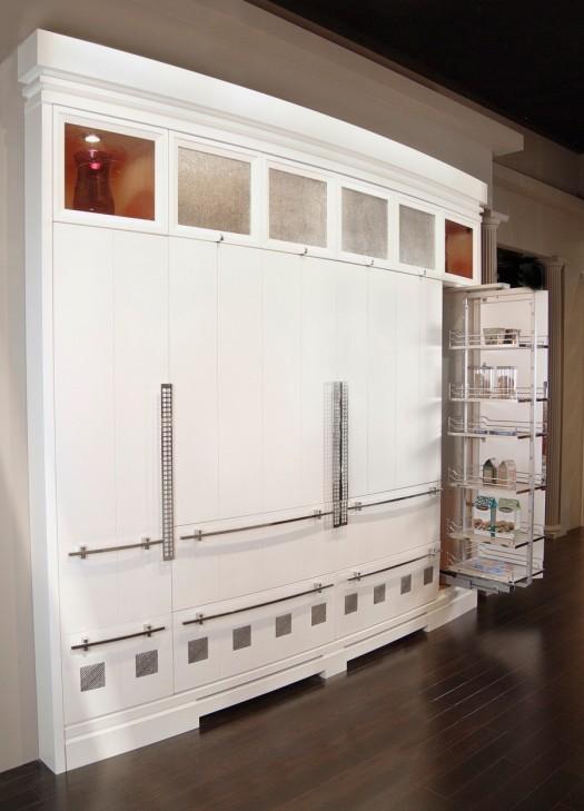 Hidden Refrigerator Armoire | KitchAnn Style