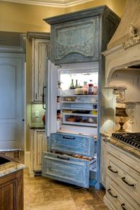 Refrigerator Armoire | KitchAnn Style