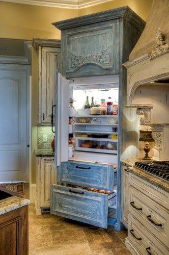 Refrigerator Armoire | KitchAnn Style