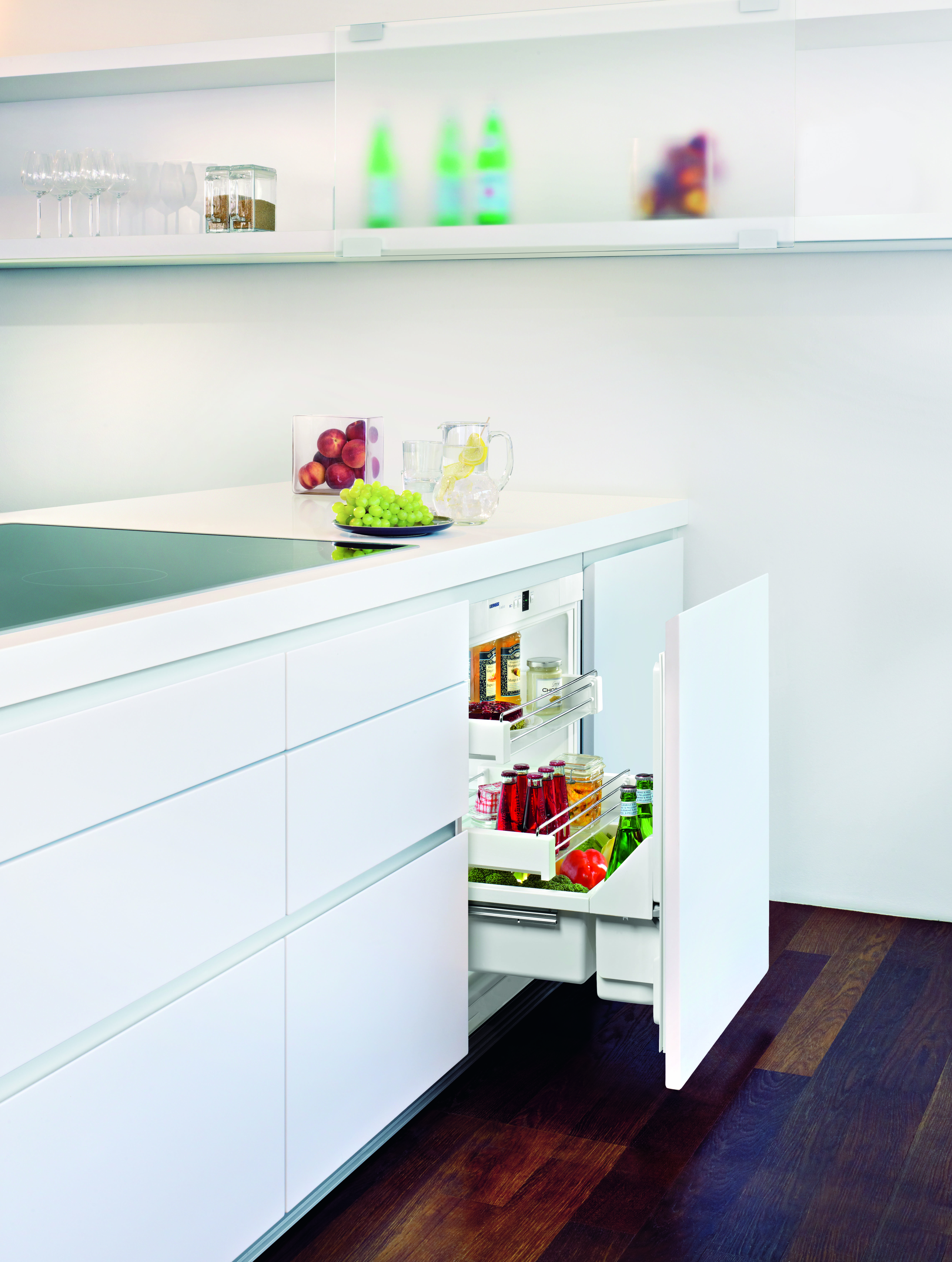 UPR 503 pull-out style undercounter refrigerator | KitchAnn Style