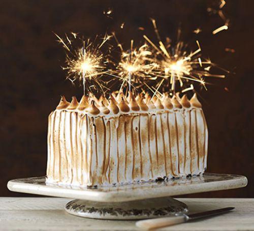 sparkler cake | KitchAnn style