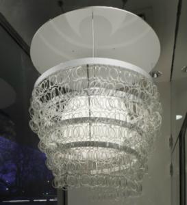Guggenheim Chandelier| KitchAnn Style
