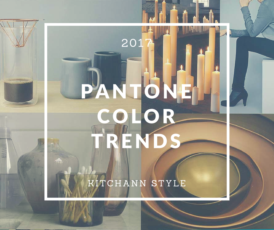 Pantone home and interiors 2017 color trends kitchen Appliance color trends 2017