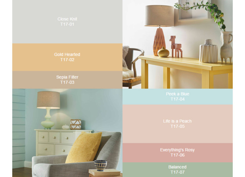 Behr 2017 color trends Behr color of the year 2017