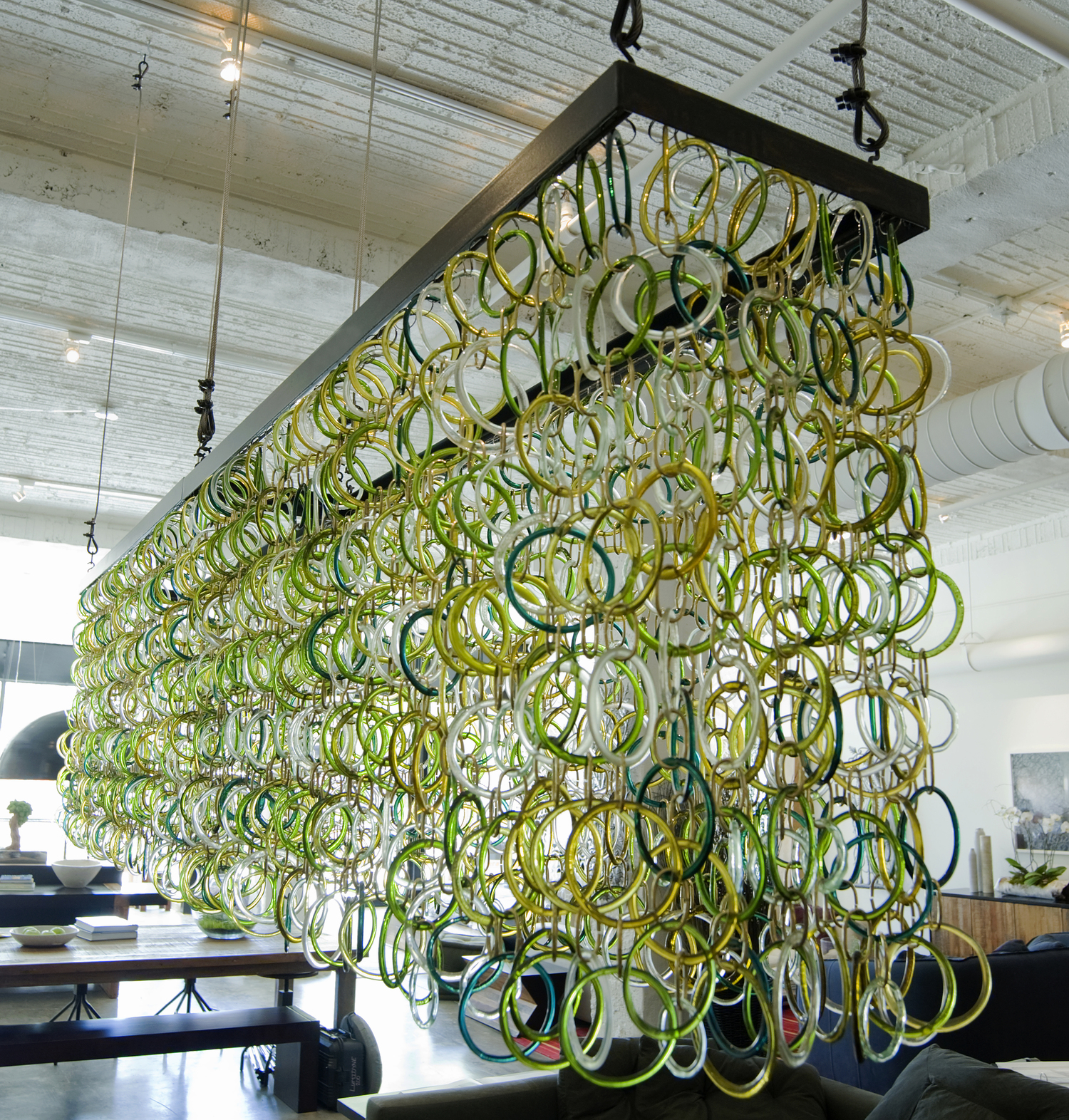 Recycled Chandelier| KitchAnn Style