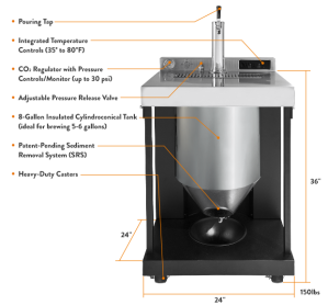 Whirlpool Beer Making System | KitchAnn Style