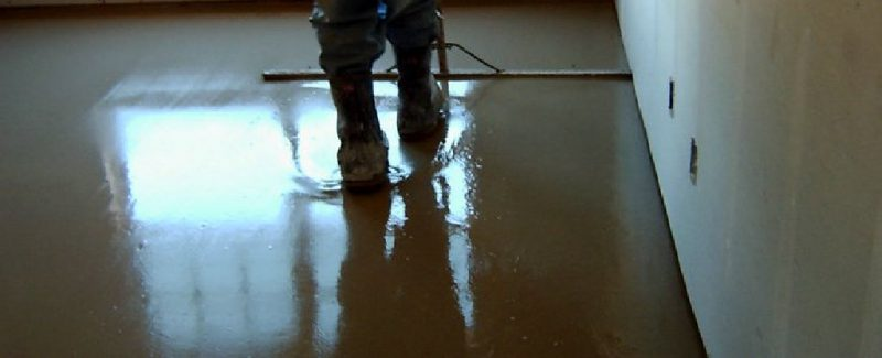 gypsum poured floor | KitchAnn Style