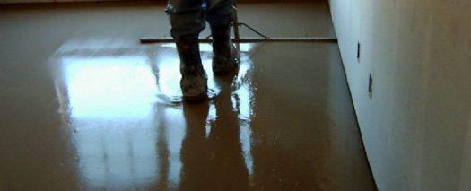 gypsum poured floor | KitchAnn Style