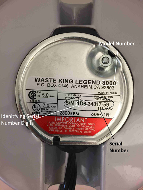 Anaheim Disposer Recall 2017 | KitchAnn Style