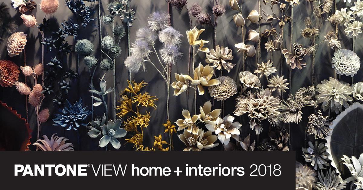 Pantone view home interiors 2018 color palettes - 2017 pantone view home interiors palettes ...