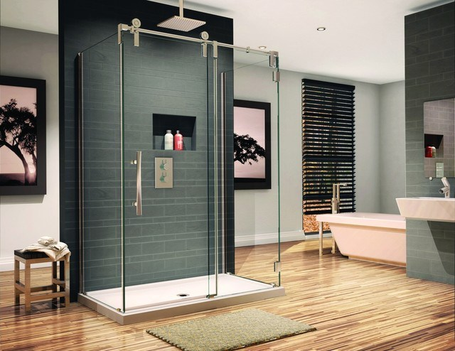 how to choose a shower door coating | KitchannStyle