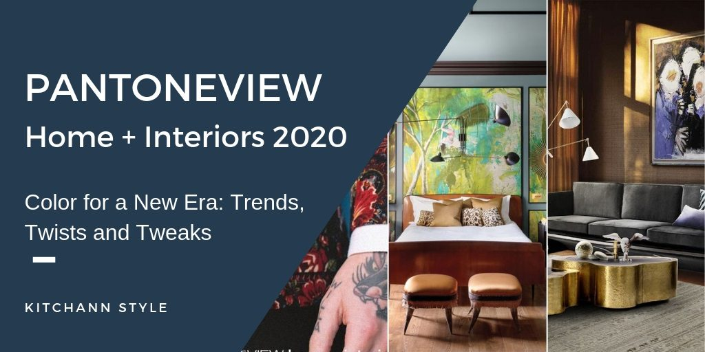Pantone 2020 Color Forecast for Interior Design