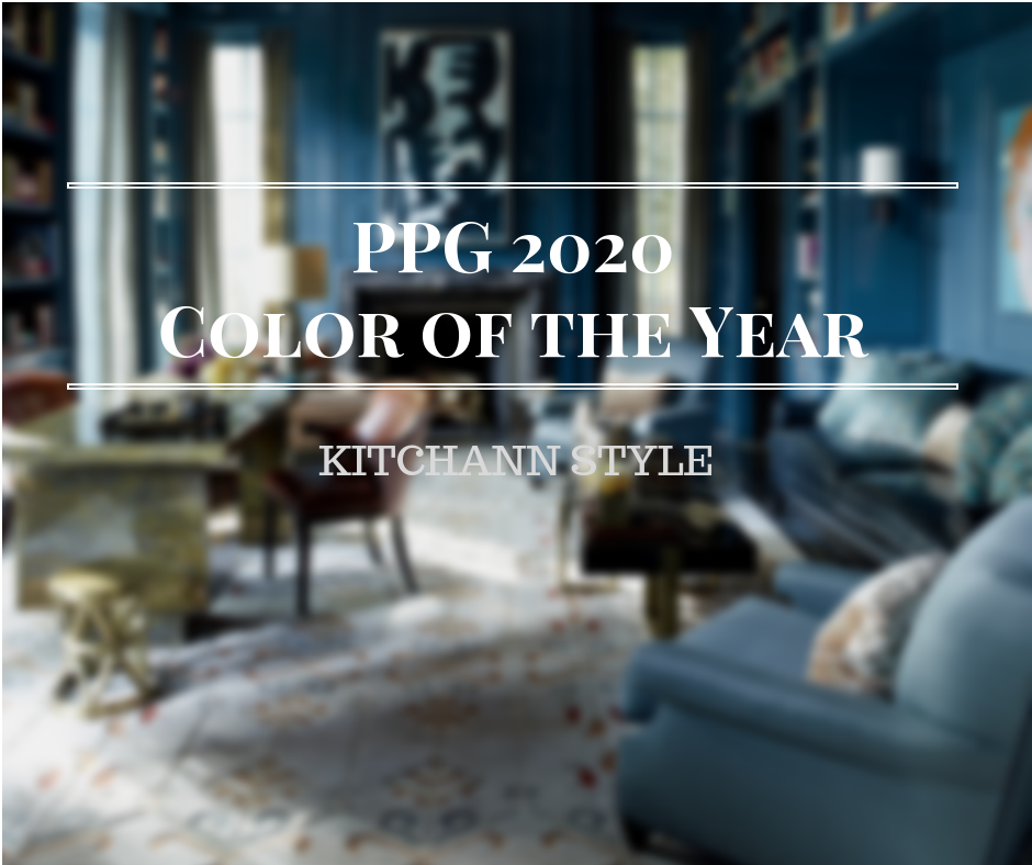 PPG Color of the Year 2020: Chinese Porcelain