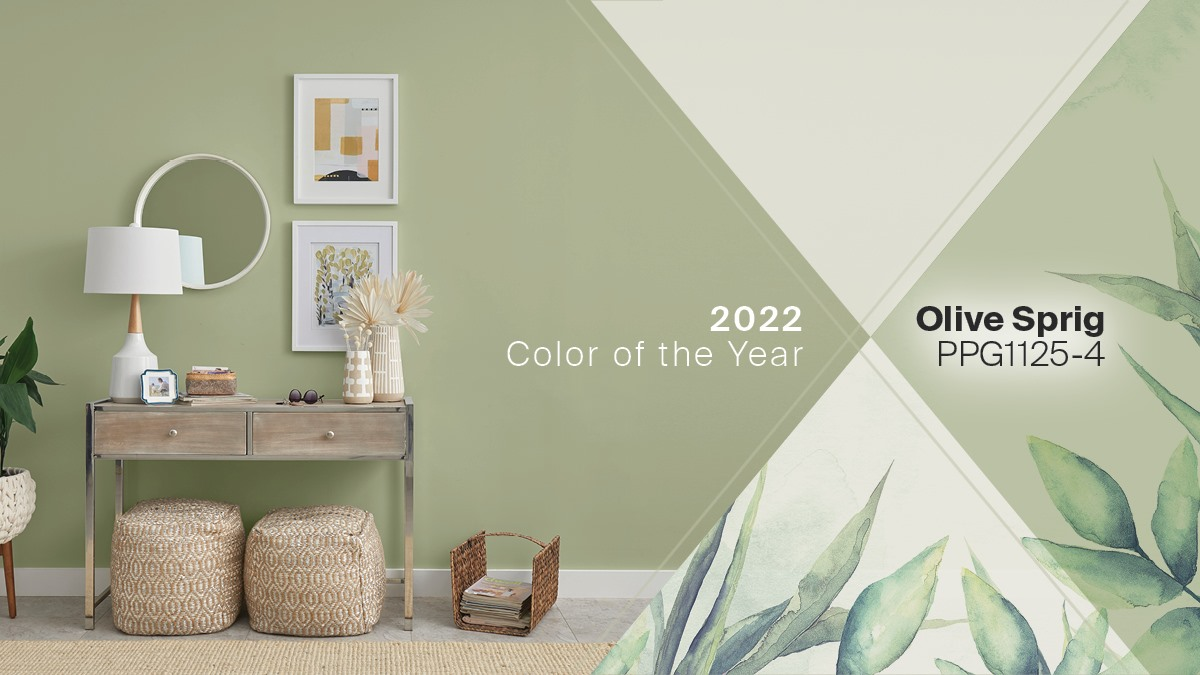 First Color of the Year for 2022 -Olive Sprig